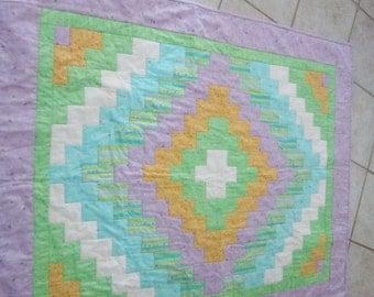 Baby's trip around the world quilt quilt