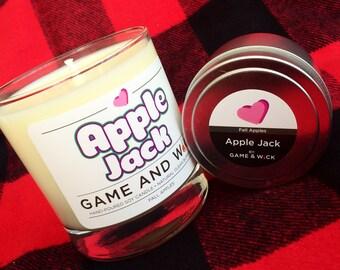 Apple Jack Candle