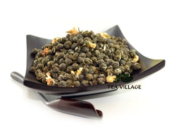 Jasmine Dragon Pearls Green Tea, High-Quality