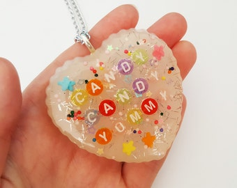 Candy Candy Yummy - Kyary Pamyu Pamyu / KPP - resin necklace