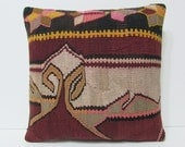 decorative pillow case 18x18 retro rug burlap pillow cover colorful pillow boho tapestry wool cushion cover colorful throw pillow case 22179