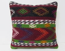 tapestry pillow 18 hippie fabric primitive throw pillow decorative kilim pillow country decorating oriental pillow shabby chic cushion 25716
