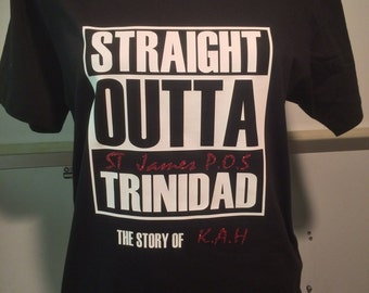 Straight Outter trinidad Tee Shirt