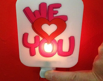 We Love You Night Light - Amy K and Co.