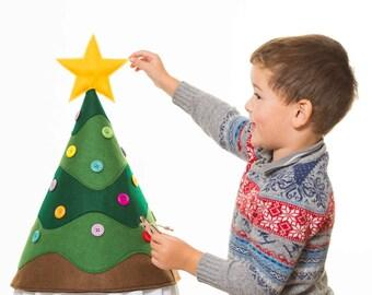Child's Advent Christmas Tree