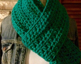 Totally Teal Infinity Scarf