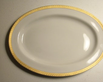 Gabbay Queen Victoria Oval Serving Platter