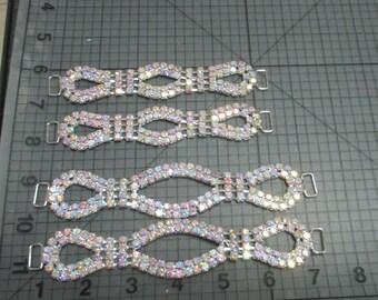 ab crystal rhinestone connector make that old bikini new