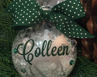 Horseback Riding Equestrian Ornament, Horse Lover Gifts, Home Decor, Personalized Ornament