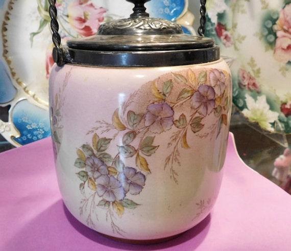 Antique Royal Doulton Biscuit Jar / Bisquit Barrel