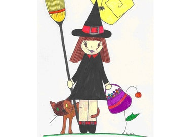 "The ""Halloween"" by Erika coloring book"