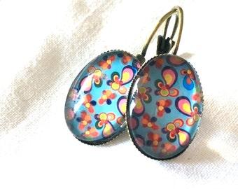 earrings wild 70th