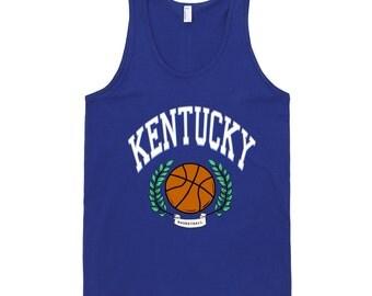Retro Kentucky Basketball Tank Top
