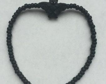 Bat Beaded Bracelet