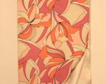 Pink Pop Art Silk Scarf