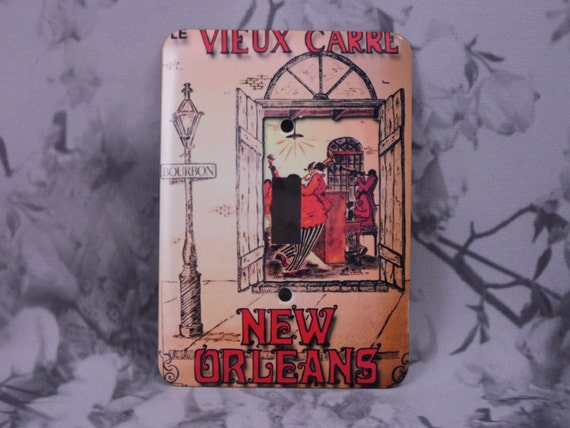 metal new orleans light switch cover new orleans poster le