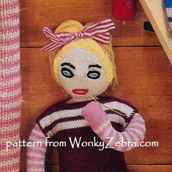 Knitting Pattern For Long Legged Doll : Vintage Doll Toy Knitting Knitted Knit Long Legs Pattern ...