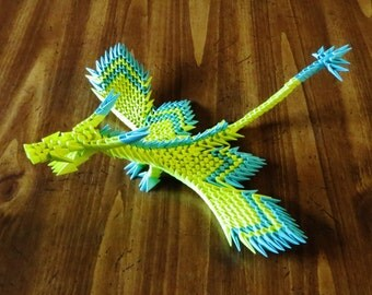Small Origami Dragon with wing