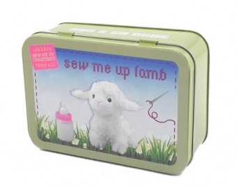 Sew Me Up Lamb, Gifts in a Tin