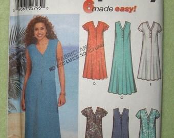 Simplicity 7217 Womens Dress Pattern