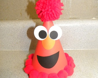 Sesame street boys elmo Party hat elmo party supplies