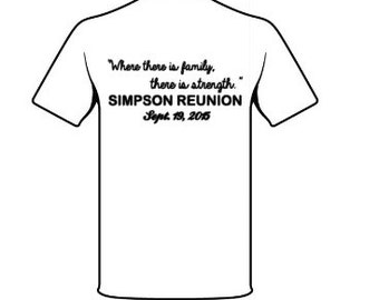 Family Reunion Tshirt Remember Family Get Togethers Remembrance