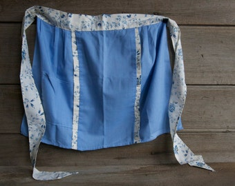 Vintage half apron / vintage apron