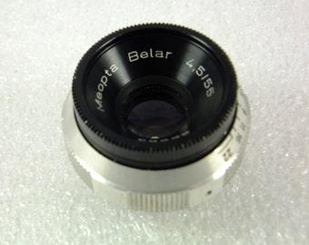 Vintage Meopta Belar 4.5/55 Lens for Colombo Enlarger 1936 , Father's day Gift