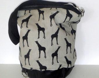 Shoulder bag backpack Sixta