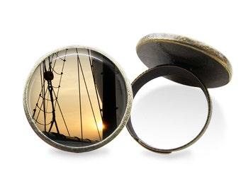 Sailing Ring or Earrings