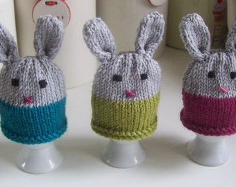 Knitting Pattern for Bunnykins Egg Cosy