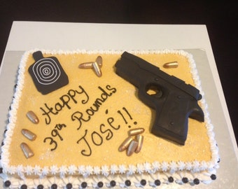Edible  Cake Gun Kit