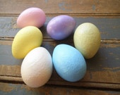Easter Eggs, Pastel Easter Eggs, ShabbyEggs, Pastel Eggs, Eggs,  Egg Ornies, Ornies, Bowl Fillers, Easter Decor