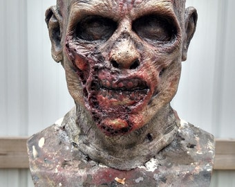 Custom made Foam Latex Zombie mask