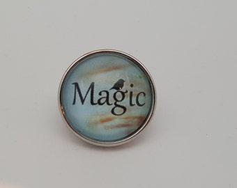 Glass Popper Snap Magic Snap Jewelry 20 mm