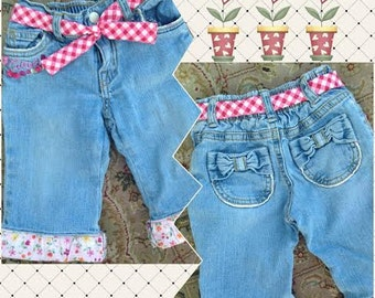Little Flower Gardener Jeans