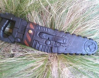 Nerf Zombie Strike Chainsaw Leather Holster