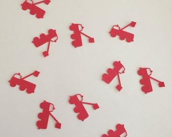 Fire truck Table/Card/Envelope Confetti