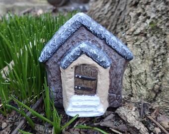 Miniature Fairy Garden House, Fairy Garden Home, Outdoor Fairy Home, Fairy  Door And