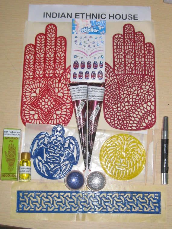 henna kit temporary tattoo henna cone kit natural henna cone
