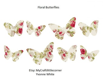 Vintage/shabby Chic Butterflies Digital Print *** INSTAND DOWNLOAD