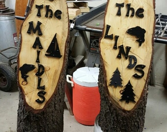 Up North Sign letters