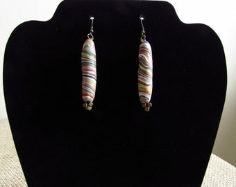 Pastels Polymer Clay Earrings