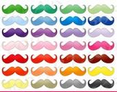 50% OFF SALE Mustache Cli...
