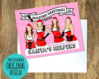 Mean Girls inspired funny Christmas card