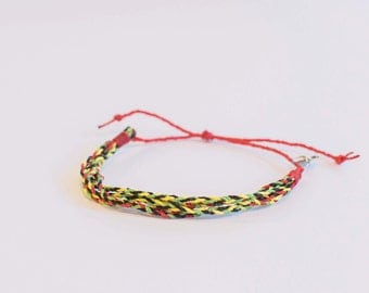 "Fair Trade Friendship Charity Bracelet, Adjustable, ""Too Much Fun"""