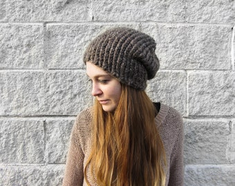 Slouchy Hat - Slouchy Knit Beanie