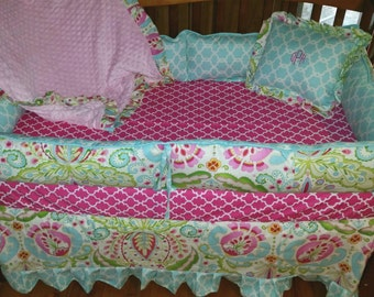 24 Hour Sale***Kumari garden crib bedding( Sale price on full sets only) prices starting at...