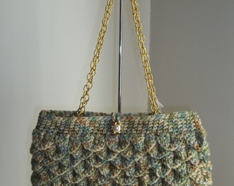 Crochet Mermaid Purse