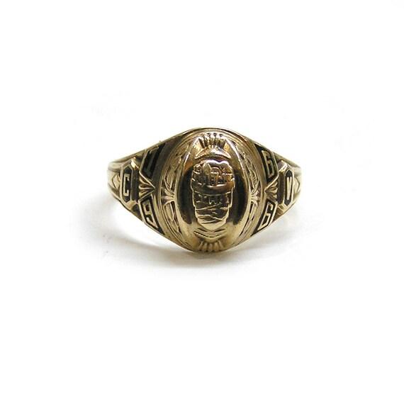 Vintage 1966 10k Gold High School Class Ring Josten s